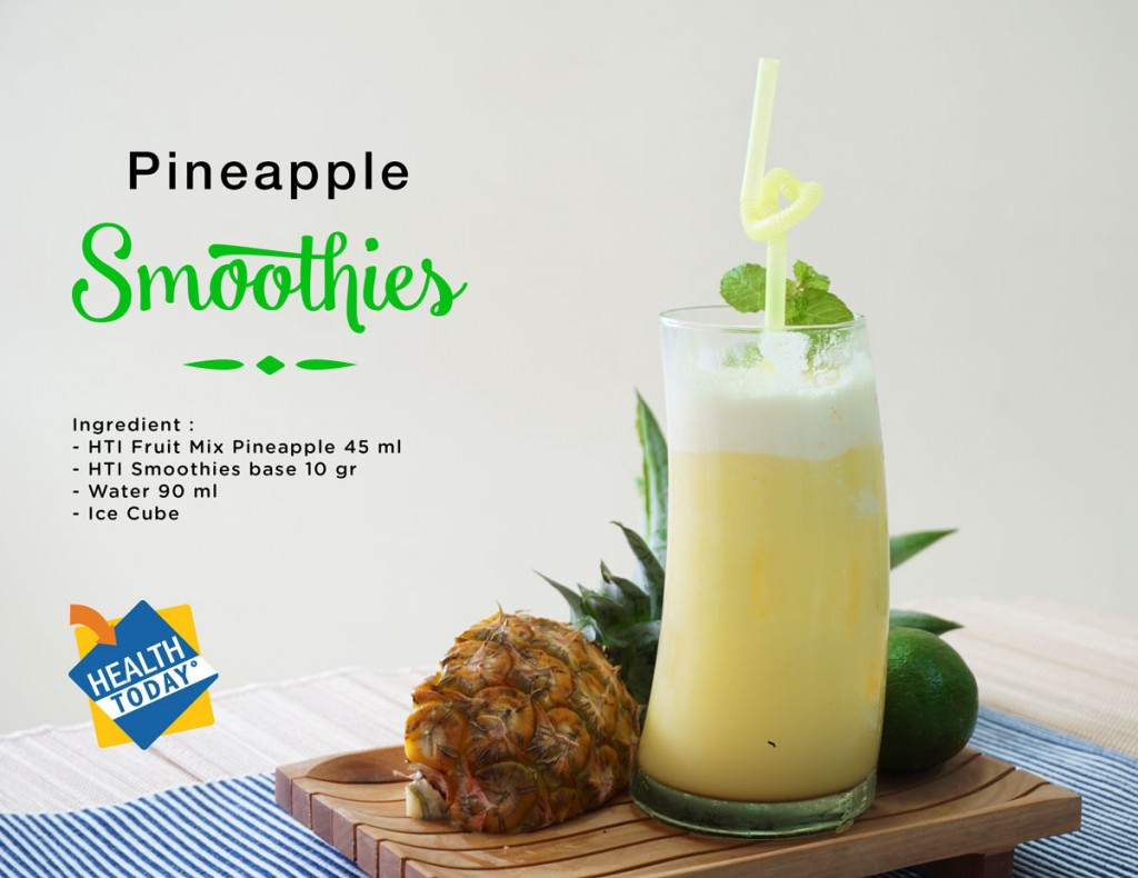 Pineapple-smoothies